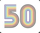 Spectrum Center 50th Anniversary logo